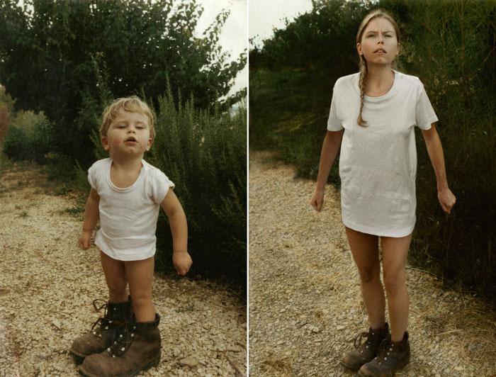 Cecile 1987 & 2010 France