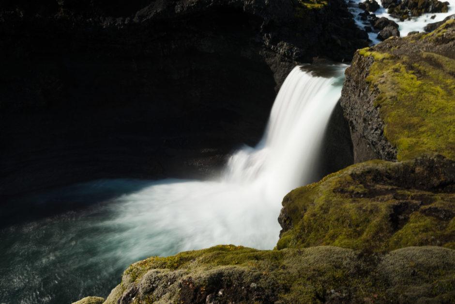 Ofærufoss waterfall