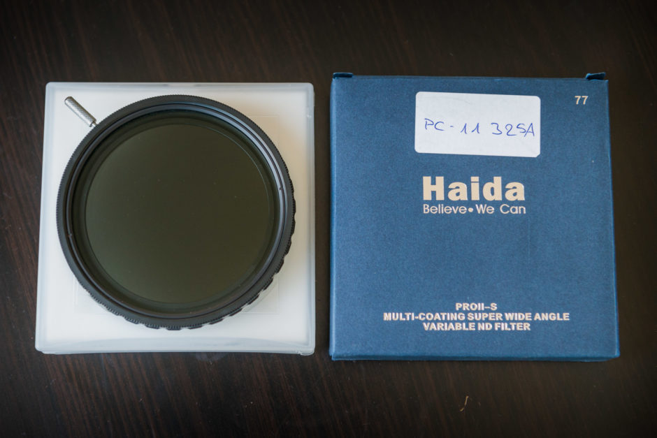 Filtre ND variable HAIDA PROII-S MC