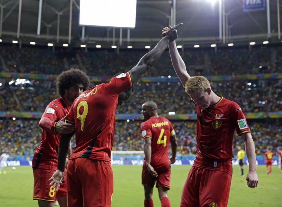 Match entre la Belgique et les USA - © Matt Dunham/AP