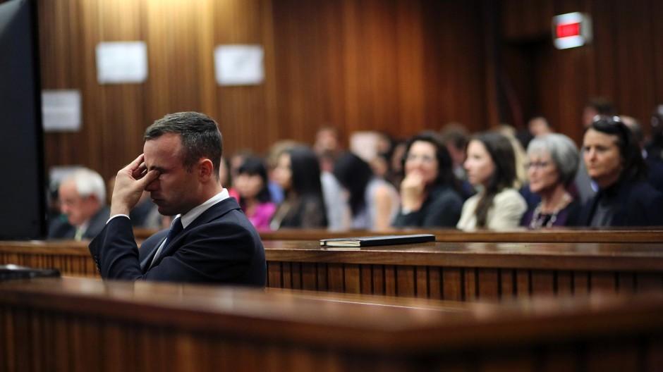 Oscar Pistorius durant son procès - © Siphiwe Sibeko/AP
