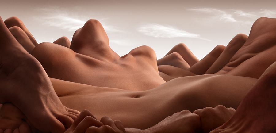 Valley of the reclining woman - © Carl Warner