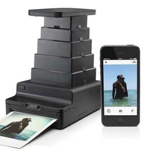 The Impossible Project Instant-Lab, un appareil photo façon chambre noire qui imprime vos photos numériques sur film instantané