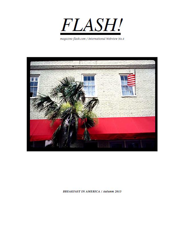 couverture du numéro 4 du webzine FLASH