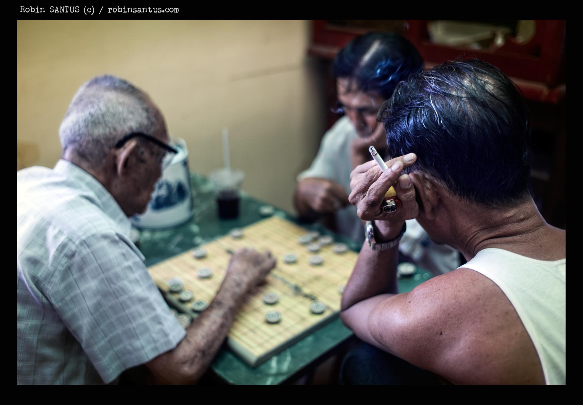 Des joueurs à Cholon - quartier chinois de Saïgon - LEICA M9 + Summicron 2./35 mm Asph