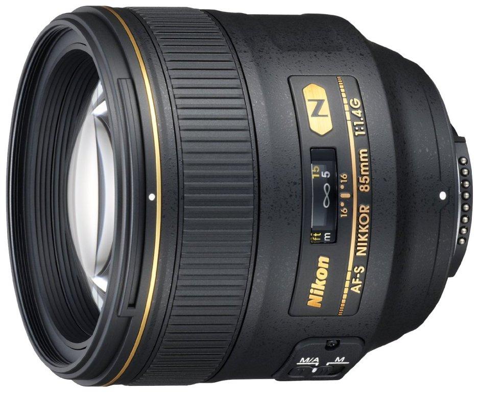 Objectif Nikkor 85 mm f/1.8 - Amazon
