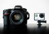 GoPro sur reflex