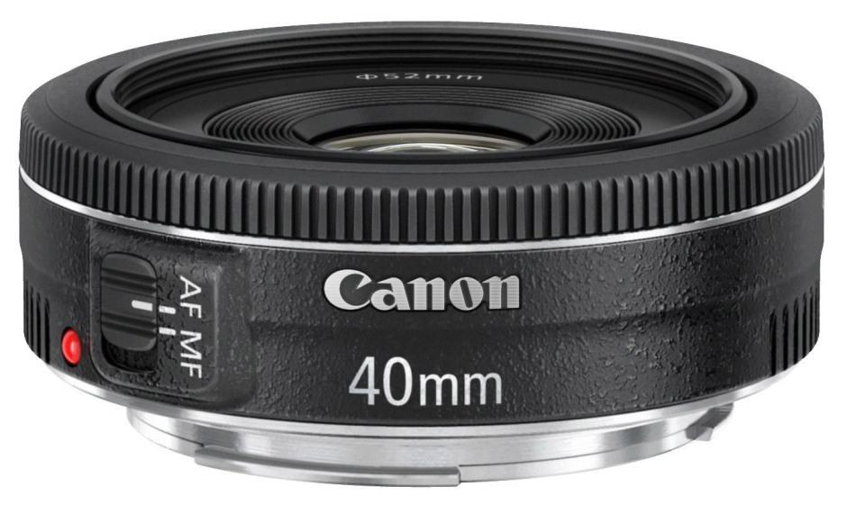 Pancake 40mm f/2.8 de Canon