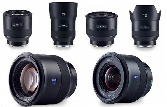 Objectifs Zeiss Batis pour monture FE Sony