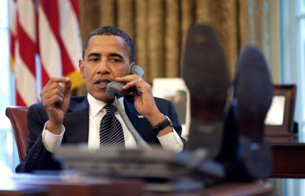 Barack Obama sous l'objectif du photographe officiel de la Maison-Blanche Pete Souza, le 8 juin 2009 (AFP / The White House / Pete Souza)