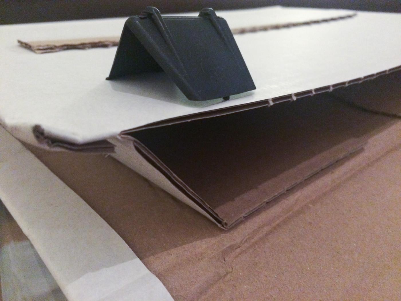 Un emballage suffisant avec des angles renforcés