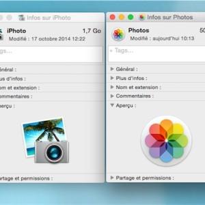 iPhoto vs Photo