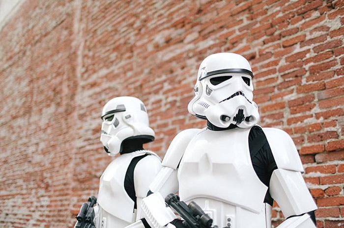 Mariage Star Wars - © Cacá Santoro