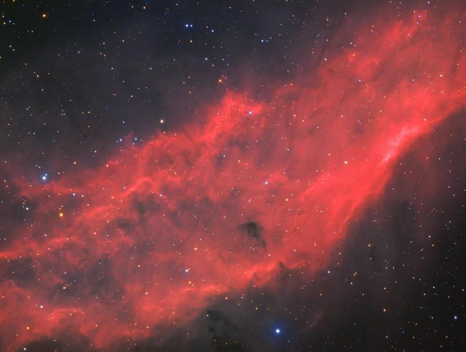 © Bastien Foucher - NGC 1499, la nébuleuse Californie