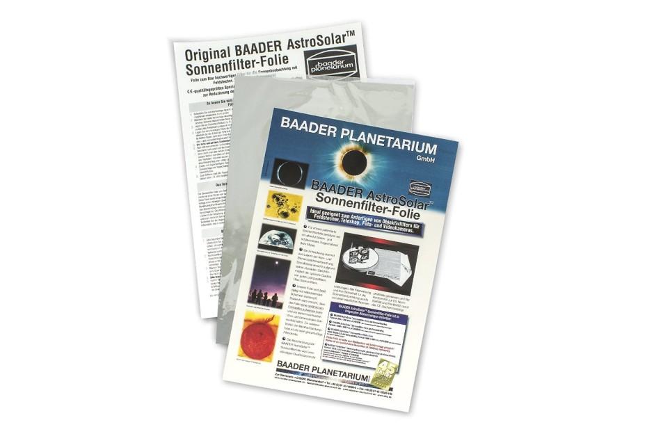 Un filtre solaire AstroSolar