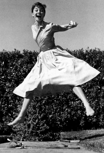 Audrey Hepburn - © Philippe Halsman