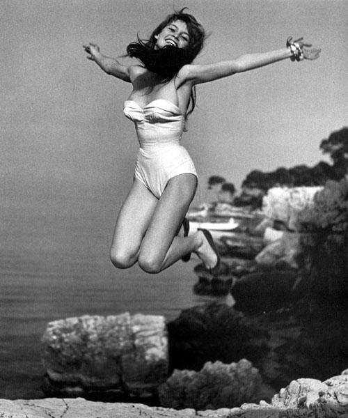 Brigitte Bardot - © Philippe Halsman