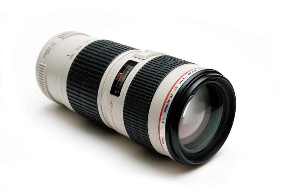 Un téléobjectif 70-200mm chez Canon