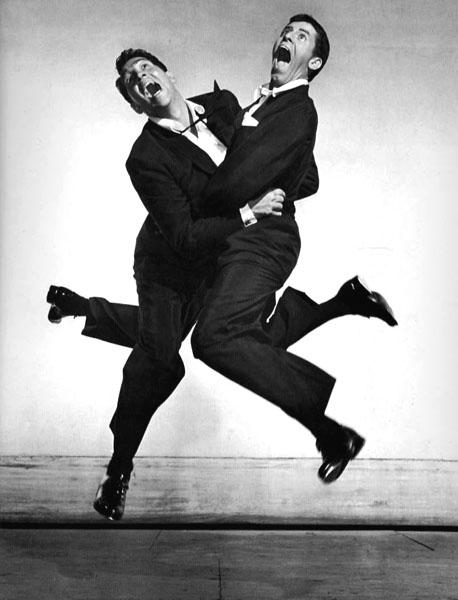 Dean Martin & Jerry Lewis - © Philippe Halsman