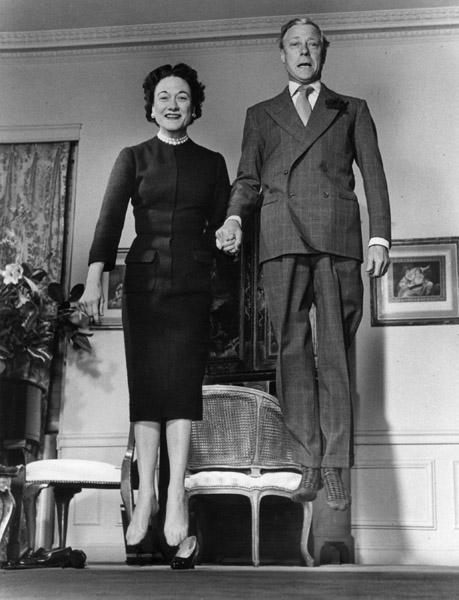 Duc et duchesse Windsor - © Philippe Halsman