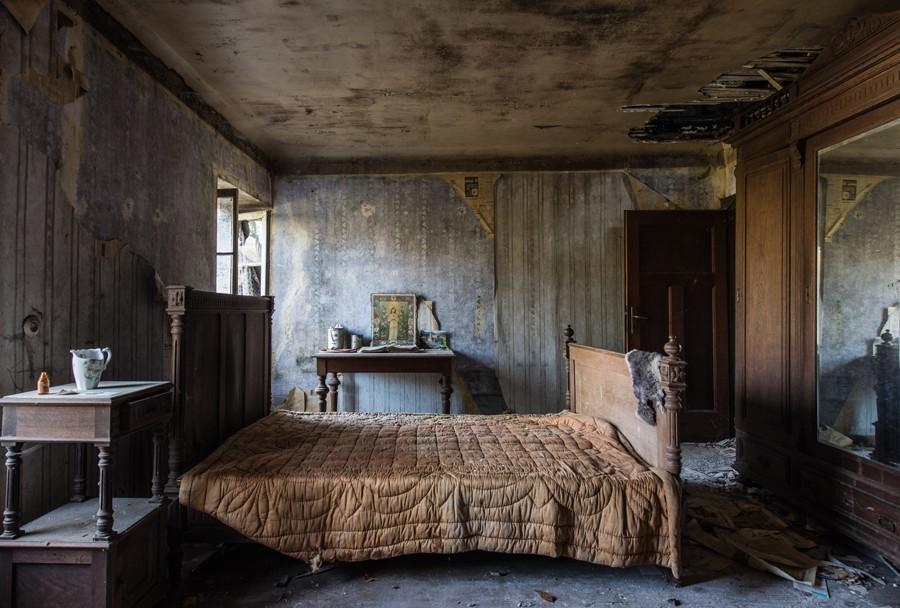 Interview de romain veillon photographe explorateur urbain for Foto di case antiche