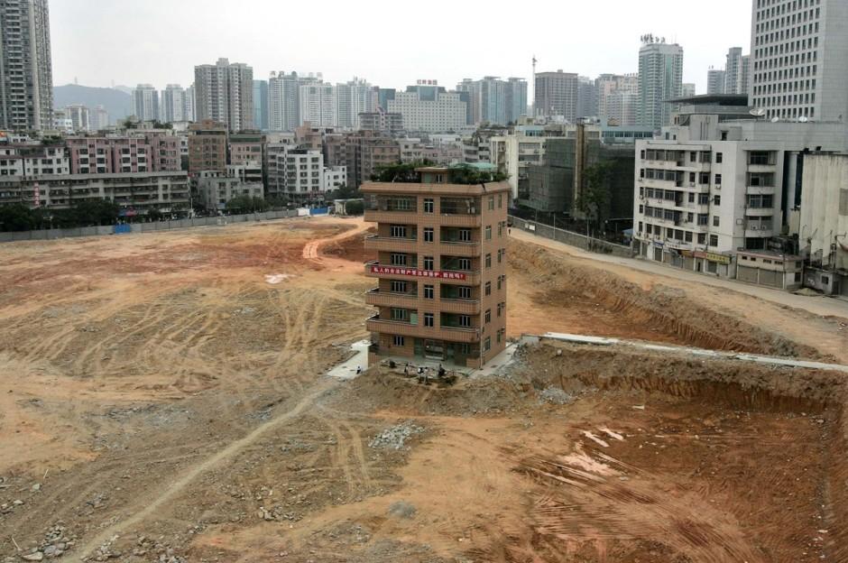 © Paul Yeung/Reuters - une villa dans le quartier d'affaire de Shenzhen