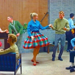 © KODAK/photo Lee Howick et Neil Montanus. Teenage dance, 1961. Colorama 193