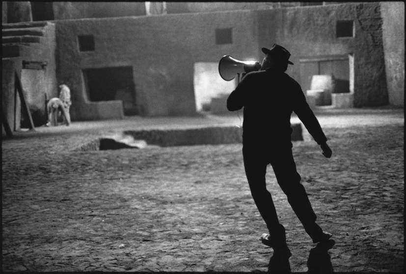 Federico Fellini sur le tournage de Satyricon, Rome, Italie 1969 - © Mary Ellen Mark