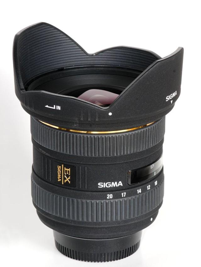 Sigma 10-20 mm f/4-5.6 DC F4-5,6 EX