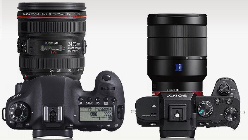 A7II face à Canon 6D, avec un 24-70mm f/4