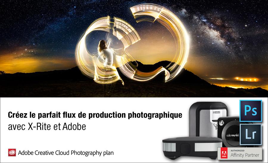 La promotion Adobe avec X-Rite