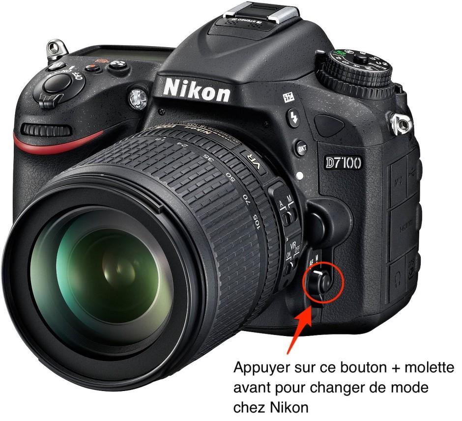 Nikon D7100 AF