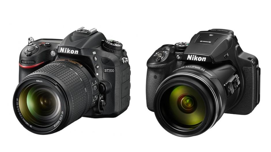 Le Coolpix P900 comparé au Nikon D7200