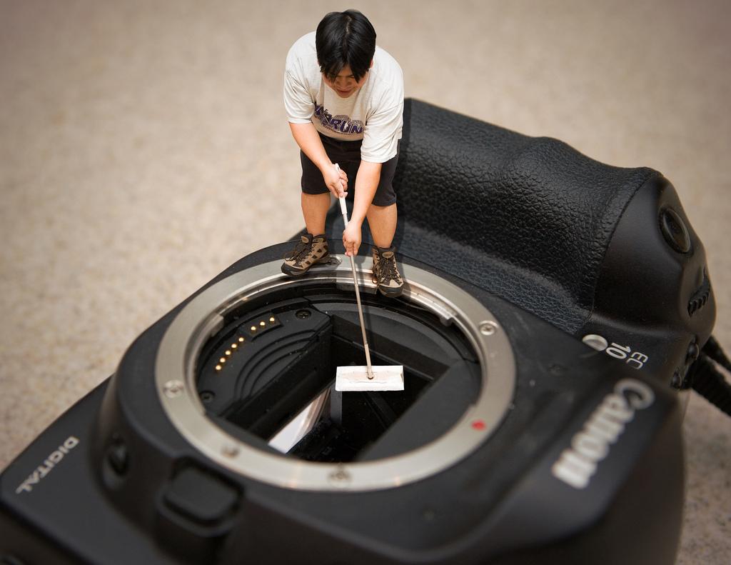 Чем помыть матрицу фотоаппарата