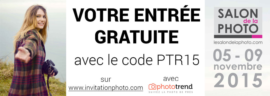 Votre entr e gratuite pour le salon de la photo 2015 for Entree gratuite salon agriculture