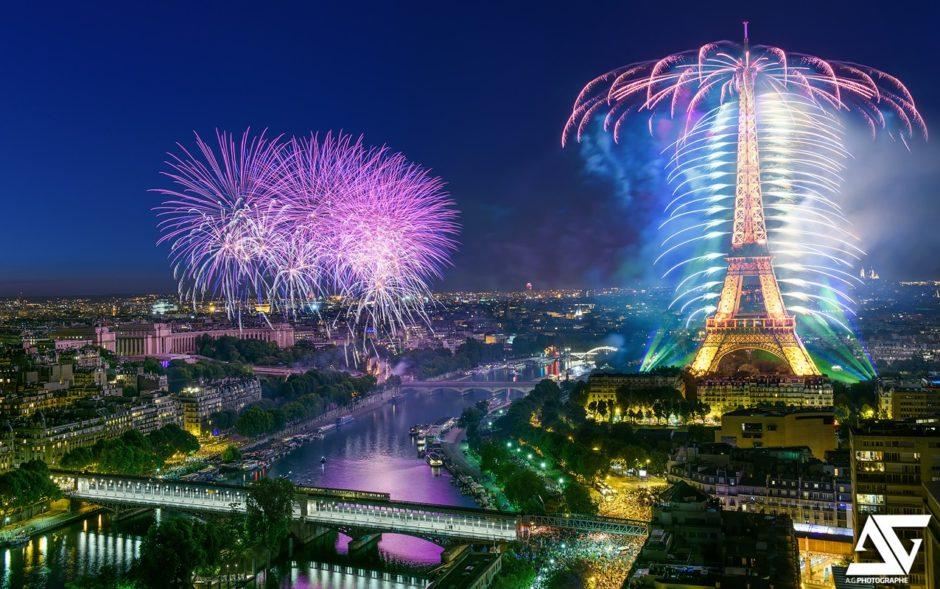 Feu d'artifice Paris 2015