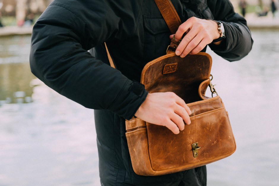 Test du sac photo The Bowery cuir d'Ona Bag