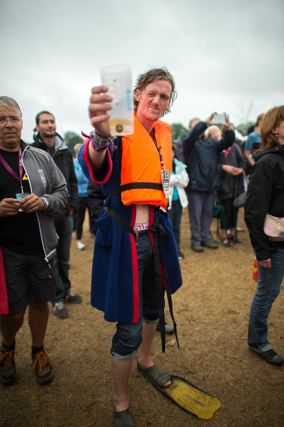 Vieilles Charrues 2015 - Prêt pour la noyage