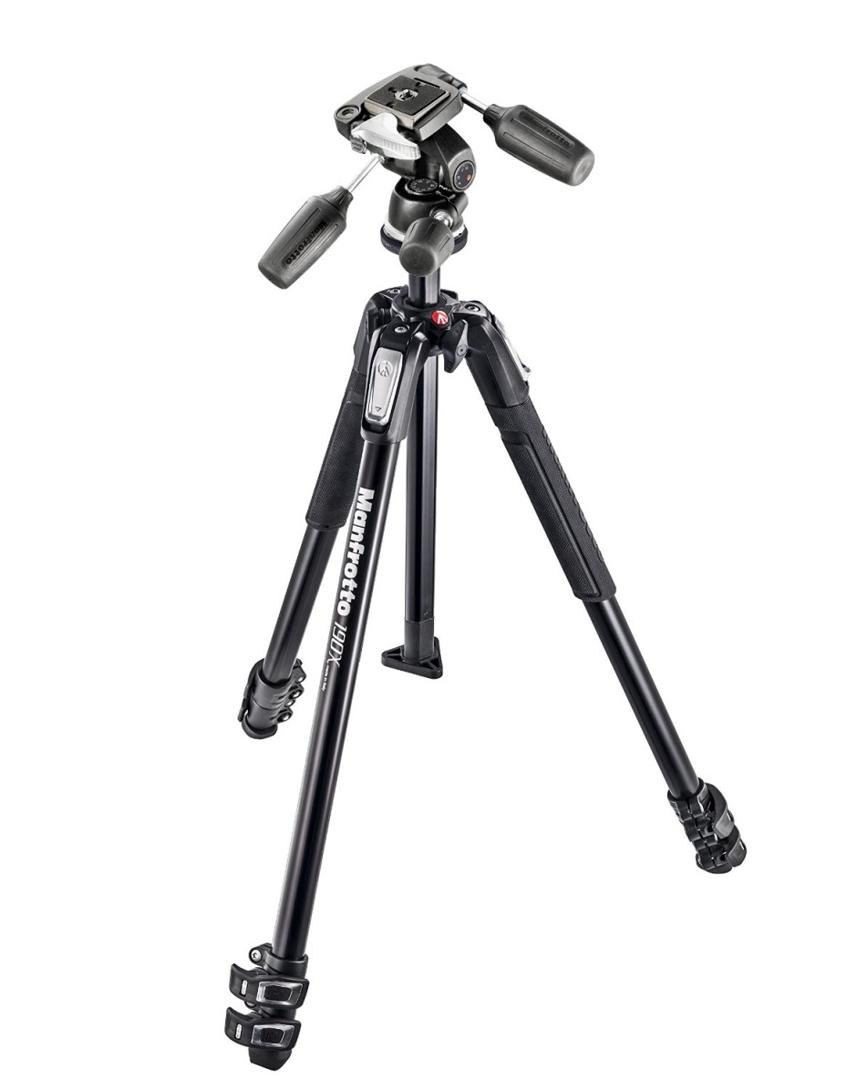 trepied manfrotto + rotule