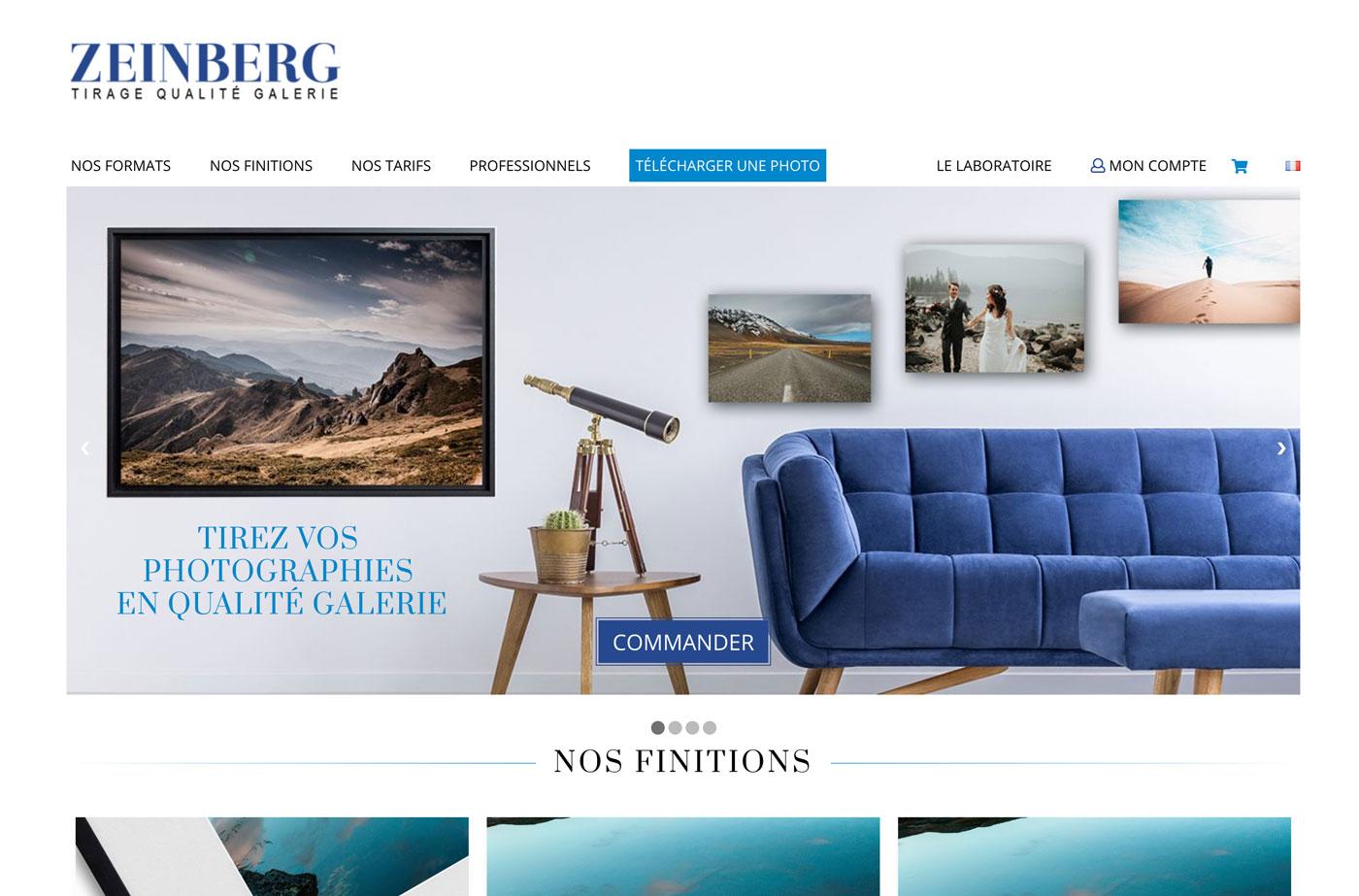 zeinberg met jour son site internet plus clair et plus simple. Black Bedroom Furniture Sets. Home Design Ideas