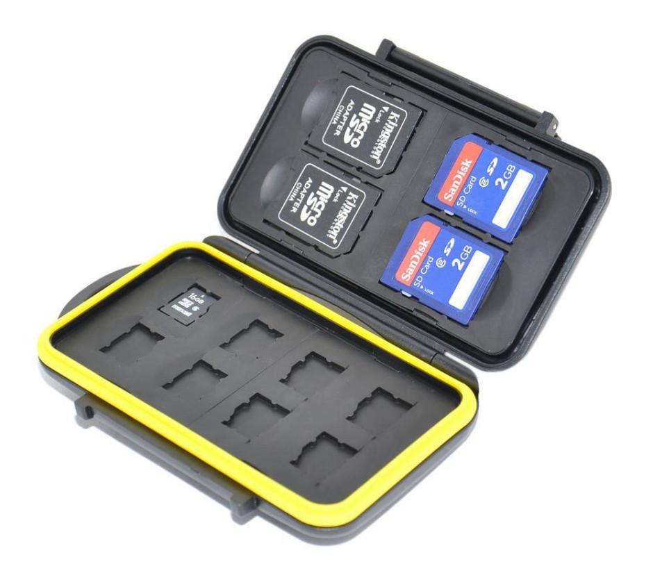 Porte cartes SD et microSD