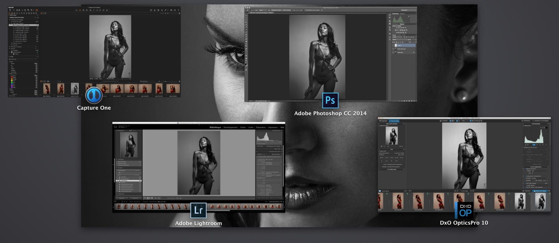 Quel logiciel utiliser pour développer / dématricer ses photos au format RAW ?