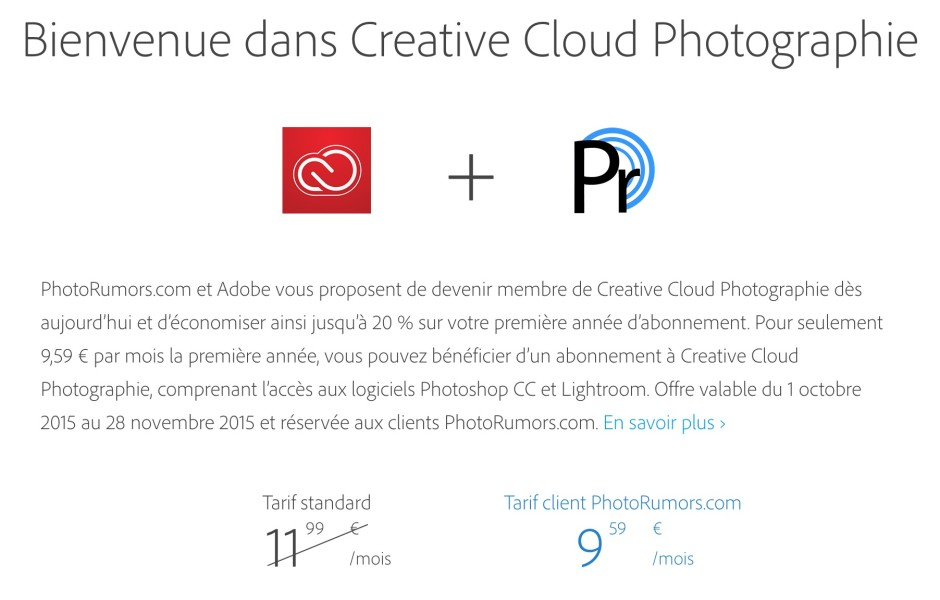 Creative Cloud Photo Rumors