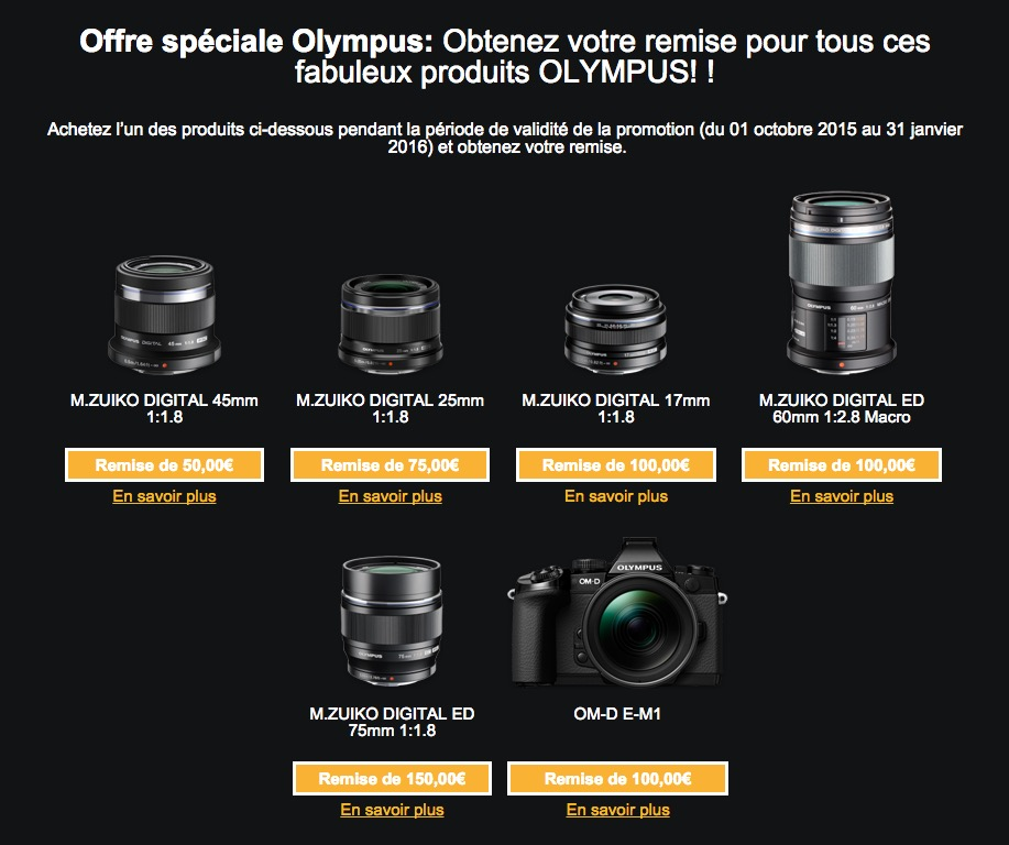 Offre remboursement OMD