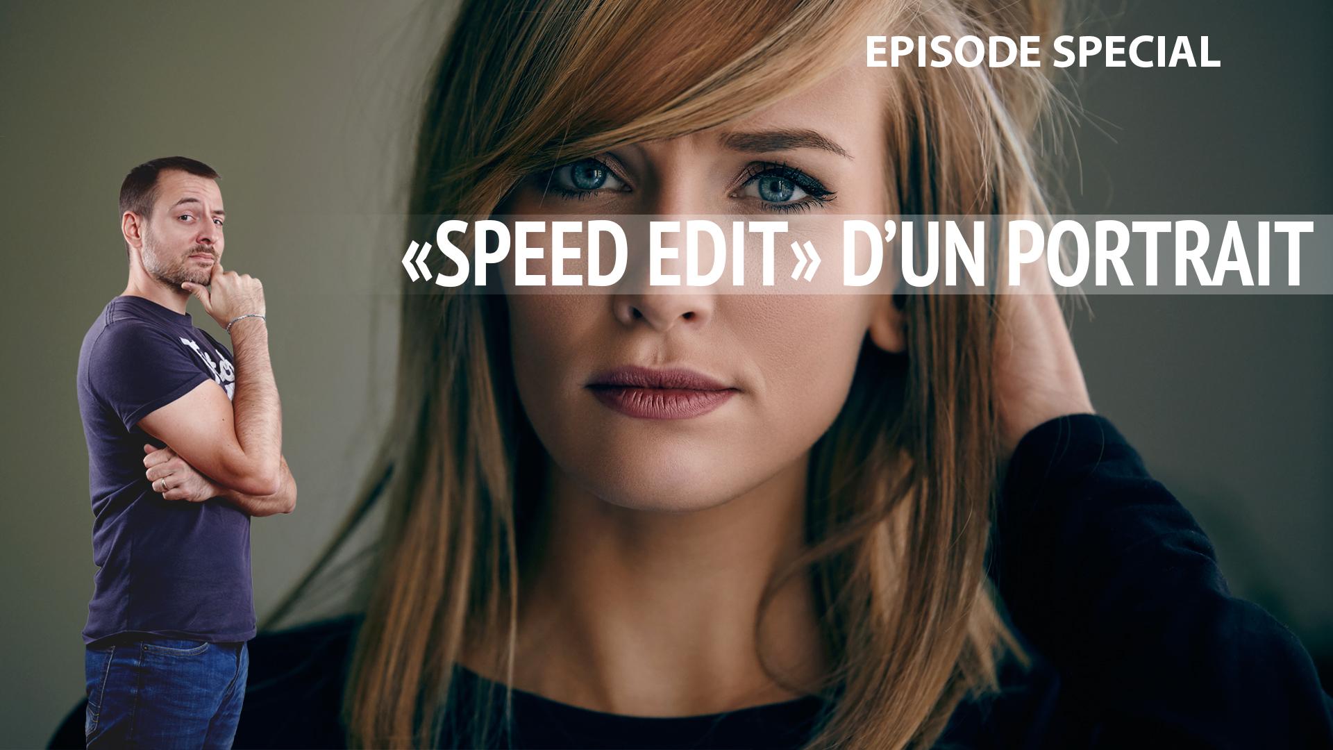 Speed edit retouche de peau : 1h30 de retouche photo en 15 min chrono
