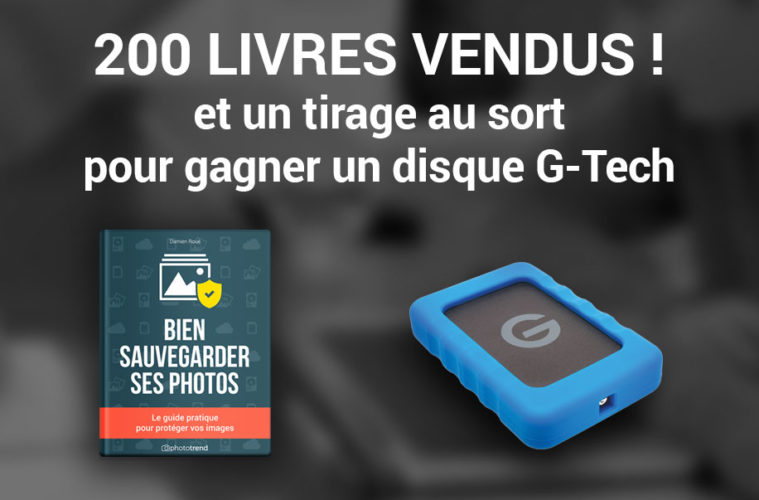 Bien sauvegarder ses photos 200 livres vendus tirage au sort - 200 euros en livres ...
