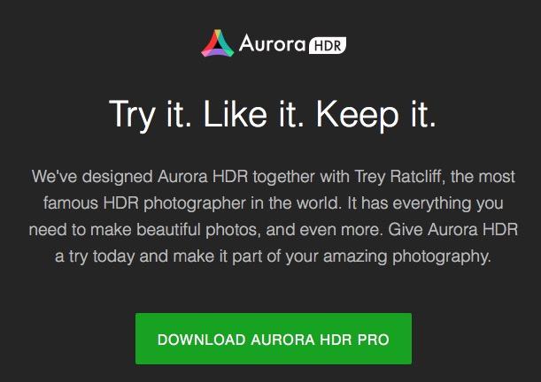 Aurora HDR free demo