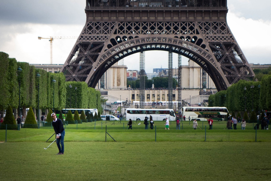 Le terrain a l'air idéal pour lui... - © Damien Roué