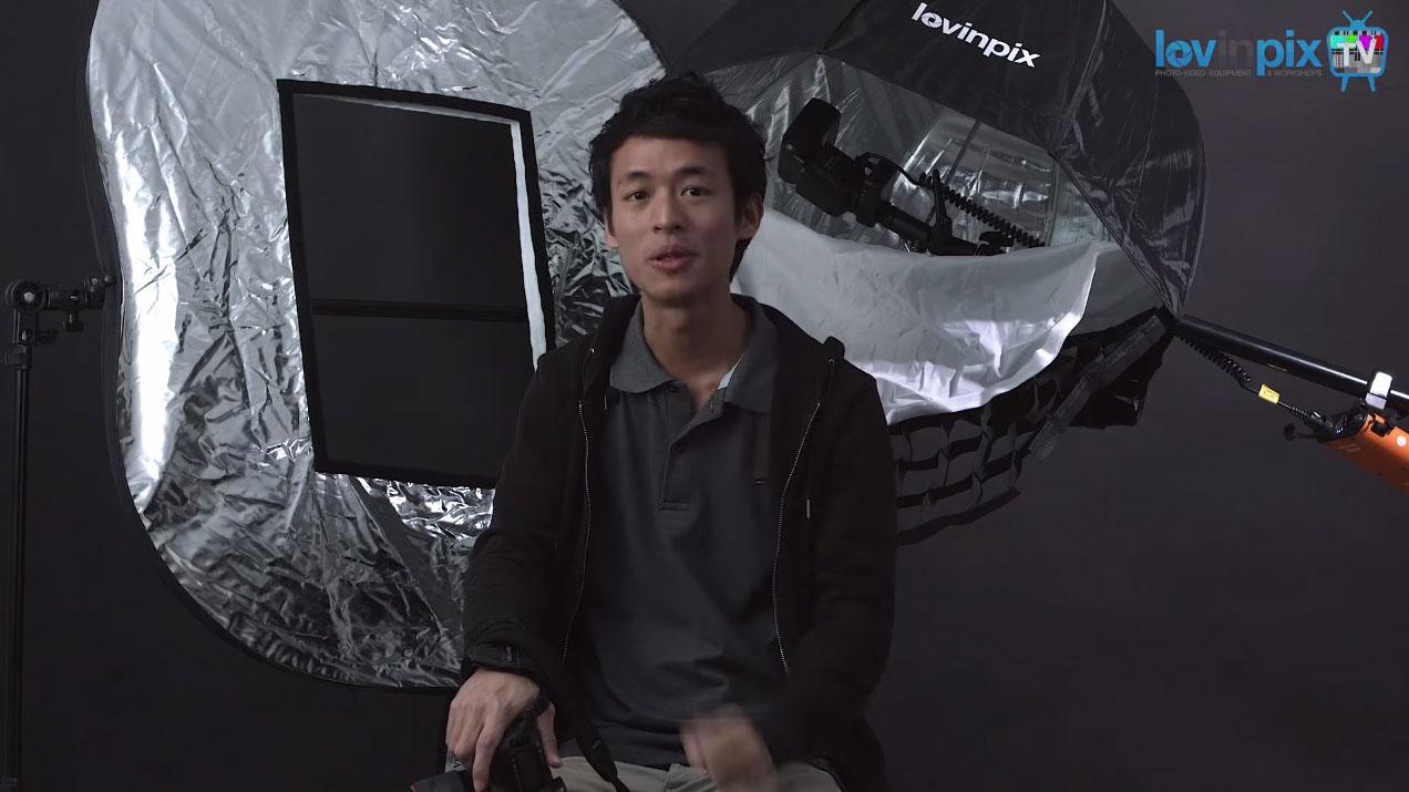 Tutoriel strobist : utiliser un flash cobra avec boîte à lumière et réflecteur pour réussir ses portraits