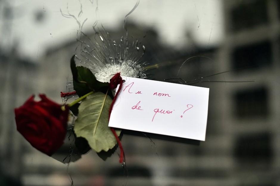 Rue de Charonne, le 14 novembre (AFP / Loïc Venance)